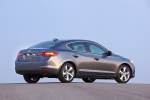 2015 Acura ILX Sedan 2.0 in Modern Steel Metallic - Static Rear Three-quarter View
