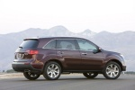 2010 Acura MDX in Dark Cherry Pearl - Static Rear Right Three-quarter View