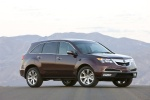 2010 Acura MDX in Dark Cherry Pearl - Static Front Right Three-quarter View