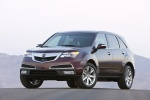2011 Acura MDX in Dark Cherry Pearl - Static Front Left View