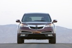 2012 Acura MDX in Dark Cherry Pearl II - Static Frontal View