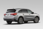 2014 Acura MDX in Silver Moon - Static Rear Right View