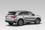 2015 Acura MDX in Silver Moon - Static Rear Right Three-quarter View