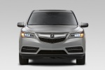 2015 Acura MDX in Silver Moon - Static Frontal View