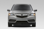 2016 Acura MDX in Silver Moon - Static Frontal View