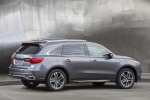 2018 Acura MDX Sport Hybrid in Modern Steel Metallic - Static Rear Right Three-quarter View