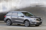 2018 Acura MDX Sport Hybrid in Modern Steel Metallic - Static Front Right Three-quarter View