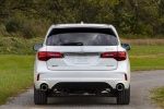 2019 Acura MDX A-Spec in White Diamond Pearl - Static Rear View