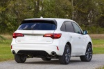 2019 Acura MDX A-Spec in White Diamond Pearl - Static Rear Right View