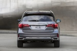 2019 Acura MDX Sport Hybrid in Modern Steel Metallic - Static Rear View