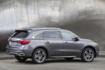 2019 Acura MDX Sport Hybrid in Modern Steel Metallic - Static Rear Right Three-quarter View