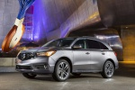 2019 Acura MDX Sport Hybrid in Modern Steel Metallic - Static Front Left View
