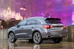 2019 Acura MDX Sport Hybrid in Modern Steel Metallic - Static Rear Left View
