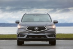2019 Acura MDX Sport Hybrid in Modern Steel Metallic - Static Frontal View