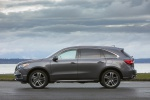 2019 Acura MDX Sport Hybrid in Modern Steel Metallic - Static Left Side View