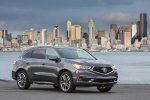 2019 Acura MDX Sport Hybrid in Modern Steel Metallic - Static Front Right View