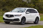 2019 Acura MDX A-Spec in White Diamond Pearl - Static Front Left View