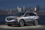 2019 Acura MDX Sport Hybrid in Modern Steel Metallic - Static Front Left Three-quarter View