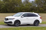2019 Acura MDX A-Spec in White Diamond Pearl - Static Front Left Three-quarter View
