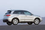 2010 Acura RDX in Palladium Metallic - Static Side View