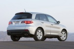 2012 Acura RDX in Palladium Metallic - Static Rear Three-quarter View