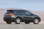 2014 Acura RDX in Graphite Luster Metallic - Static Rear Three-quarter View