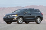 2014 Acura RDX in Graphite Luster Metallic - Static Front Left View