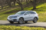 2016 Acura RDX AWD in Slate Silver Metallic - Static Front Left Three-quarter View
