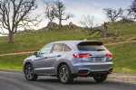 2016 Acura RDX AWD in Slate Silver Metallic - Static Rear Left View