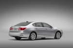 2014 Acura RLX in Silver Moon - Static Rear Right Three-quarter View