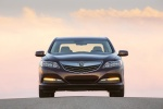 2014 Acura RLX Sport Hybrid in Pomegranate Pearl - Static Frontal View