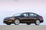 2016 Acura RLX Sport Hybrid in Pomegranate Pearl - Static Front Left Three-quarter View