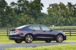2017 Acura TLX in Fathom Blue Pearl - Static Rear Right Three-quarter View