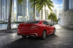 2018 Acura TLX Sedan in San Marino Red - Static Rear Right View