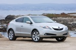 2010 Acura ZDX in Palladium Metallic - Static Front Three-quarter View