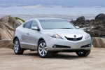 2010 Acura ZDX in Palladium Metallic - Static Front Right View