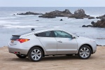 2012 Acura ZDX in Palladium Metallic - Static Rear Right View