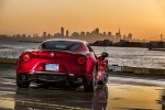 2015 Alfa Romeo 4C Coupe in Rosso Alfa - Static Rear Right View