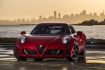 2017 Alfa Romeo 4C Coupe in Rosso Alfa - Static Front Left View