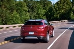 2018 Alfa Romeo Stelvio Ti Sport AWD in Rosso Competizione Tri-Coat - Driving Rear Right View