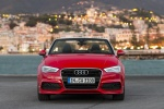 2016 Audi A3 Convertible in Brilliant Red - Static Front Left Three-quarter View