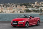 2016 Audi A3 Convertible in Brilliant Red - Static Left Side View
