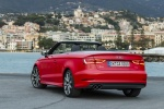 2016 Audi A3 Convertible in Brilliant Red - Static Rear View