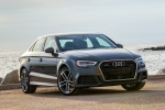 2018 Audi A3 2.0T S-Line quattro Sedan in Monsoon Gray Metallic - Static Front Right Three-quarter View