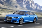 2018 Audi A6 3.0T S-Line quattro Sedan in Blue - Driving Front Left Three-quarter View