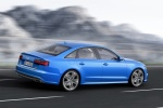 2018 Audi A6 3.0T S-Line quattro Sedan in Blue - Driving Rear Right Three-quarter View