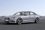2018 Audi A6 3.0T S-Line Sedan in Nardo Gray - Static Front Left View
