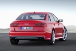 2018 Audi S6 Premium Plus quattro Sedan in Misano Red Pearl Effect - Static Rear Right View