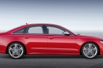 2018 Audi S6 Premium Plus quattro Sedan in Misano Red Pearl Effect - Static Side View