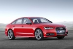 2018 Audi S6 Premium Plus quattro Sedan in Misano Red Pearl Effect - Static Front Right Three-quarter View